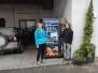 Einweihung des Verkaufsautomaten von Frau Gröner