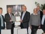 Übergabe des Bewilligungsbescheides für den Dorfladen in Heuchlingen durch Landwirtschaftsminister Peter Hauk am 27.10.2016