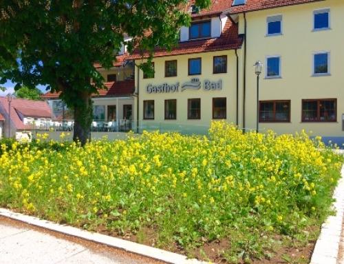 Verbesserung des Angebots im Gasthof zum Bad in Langenau