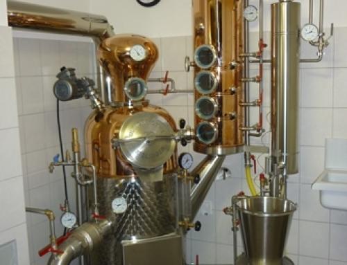 Jochen Eckhardt: Aufbau einer Brennerei zur Verarbeitung von vorwiegend eigenem Obst, zur Herstellung regionaler Destillate