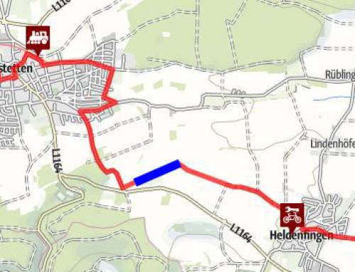 Gemeinde Gerstetten: Lückenschluss Albtäler – Radweg zwischen Heldenfingen und Gerstetten