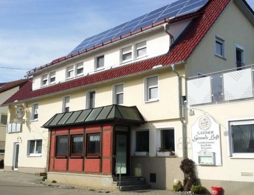 Georg Hezler: Neuausrichtung Gastronomiebetrieb – Umnutzung eines alten Kegelbahngebäudes zu 2 Ferienwohnungen, Garage und Treppenhaus